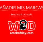Añade tus marcas – Benchmarks CrossFit